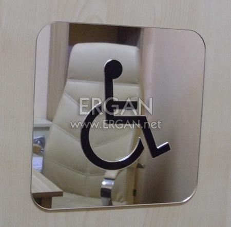 Dekupe Ayna WC Kapılığı