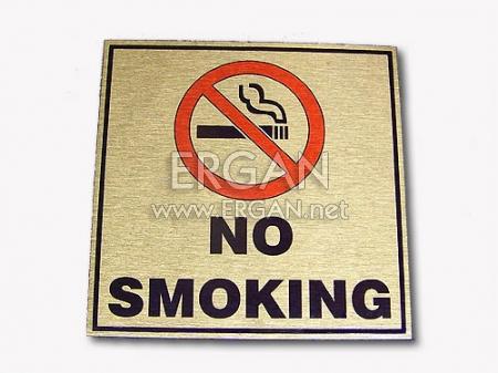 Alüminyum - Sigara İçilmez